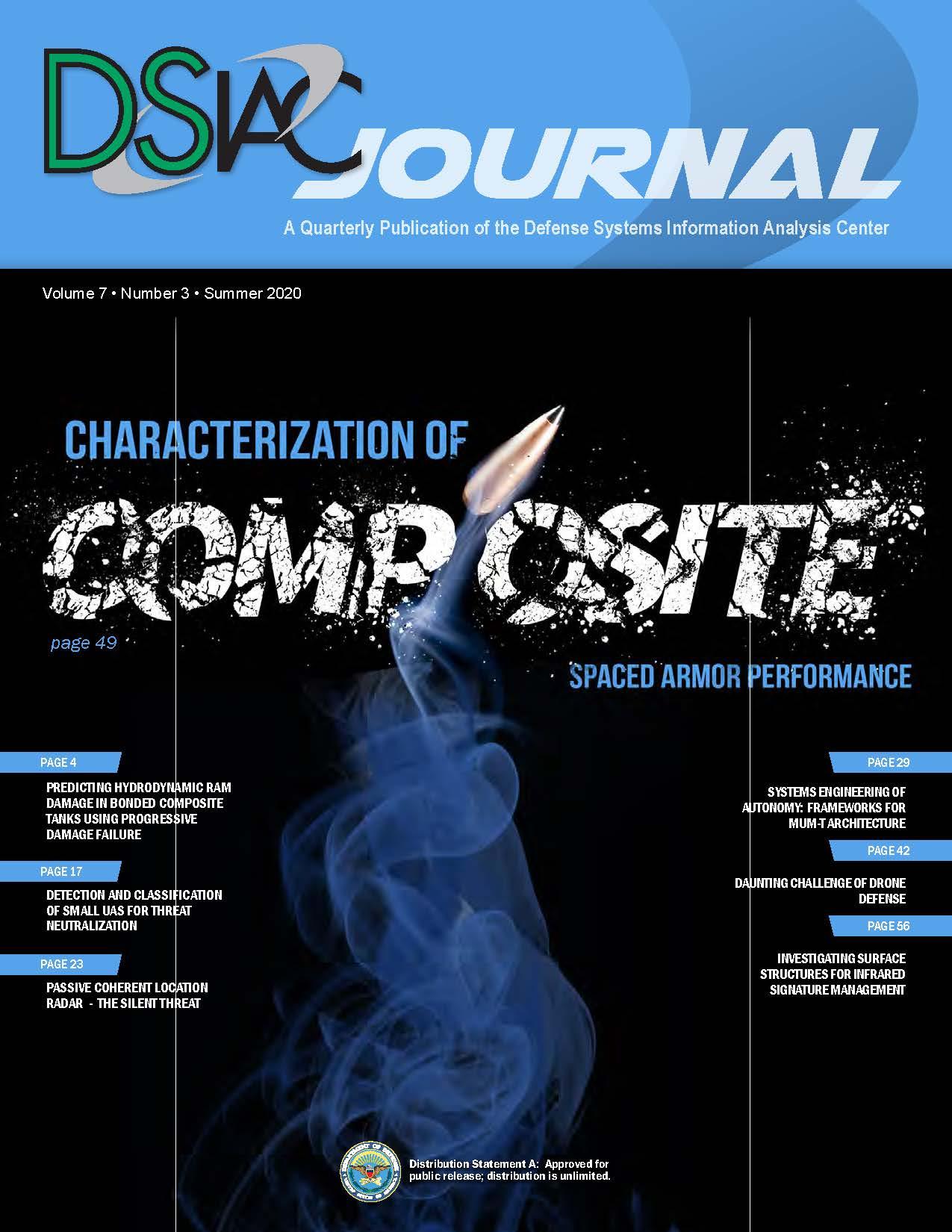 Summer 2020 Vol 7 No 3 - DSIAC Journal_Page_01