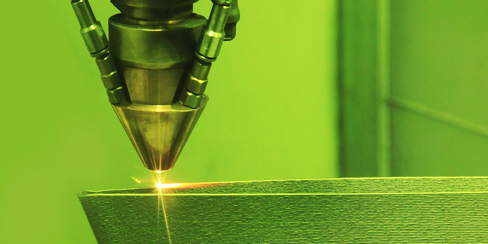 When 3-D printing metallic parts, Argonne scientists found a correlation between temperatures at the surface and defects that form below (image by Shutterstock/sspopov).