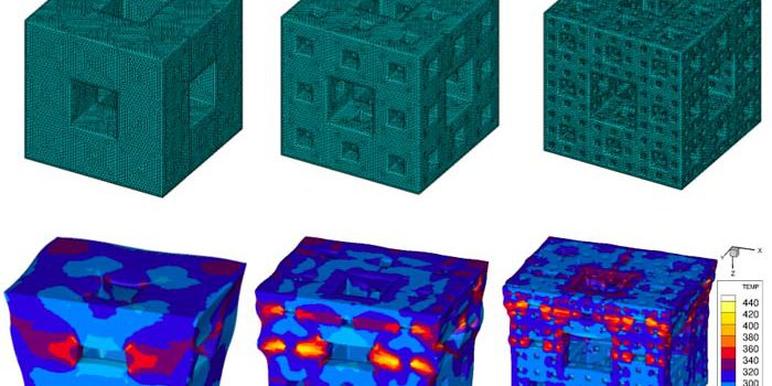 Shock-Dissipating Fractal Cubes Could Forge High-Tech Armor (Credit: Los Alamos National Laboratory).