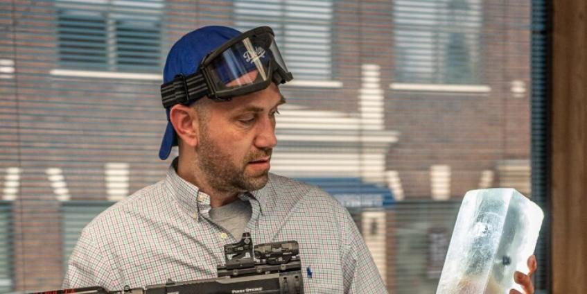 Maine entrepreneur developing less lethal projectiles