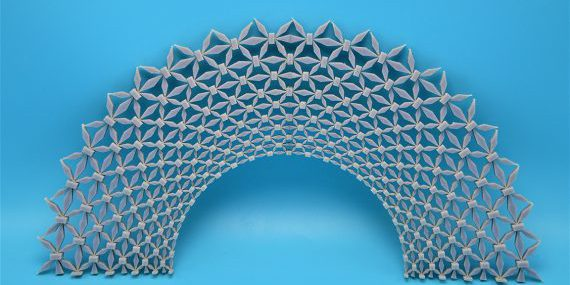 """Huang's team designed and created a new metamaterial, an artificially structured material, that achieves """"perfect"""" elastic material cloaking (source: University of Missouri)."""